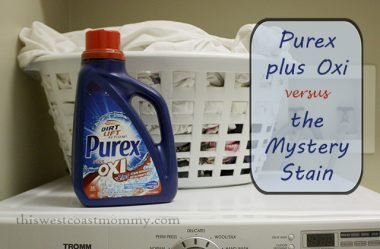 Purex plus Oxi versus the Mystery Stain