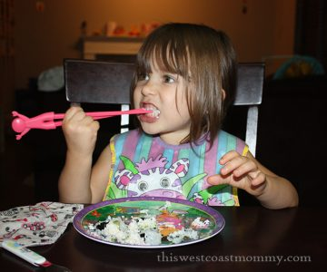 Eating with Chopsticks | This West Coast Mommy