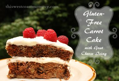 #Gluten-Free Carrot Cake with Goat Cheese Icing #Recipe   This West Coast Mommy