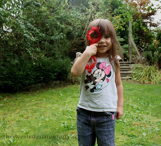 A Child's Imagination - Magnifying Glass