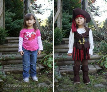 High Seas Buccaneer Pirate Costume | This West Coast Mommy