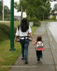 Walking to School - Extending Natural Living into the Classroom | This West Coast Mommy