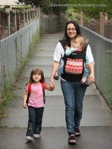 Walking to school | This West Coast Mommy