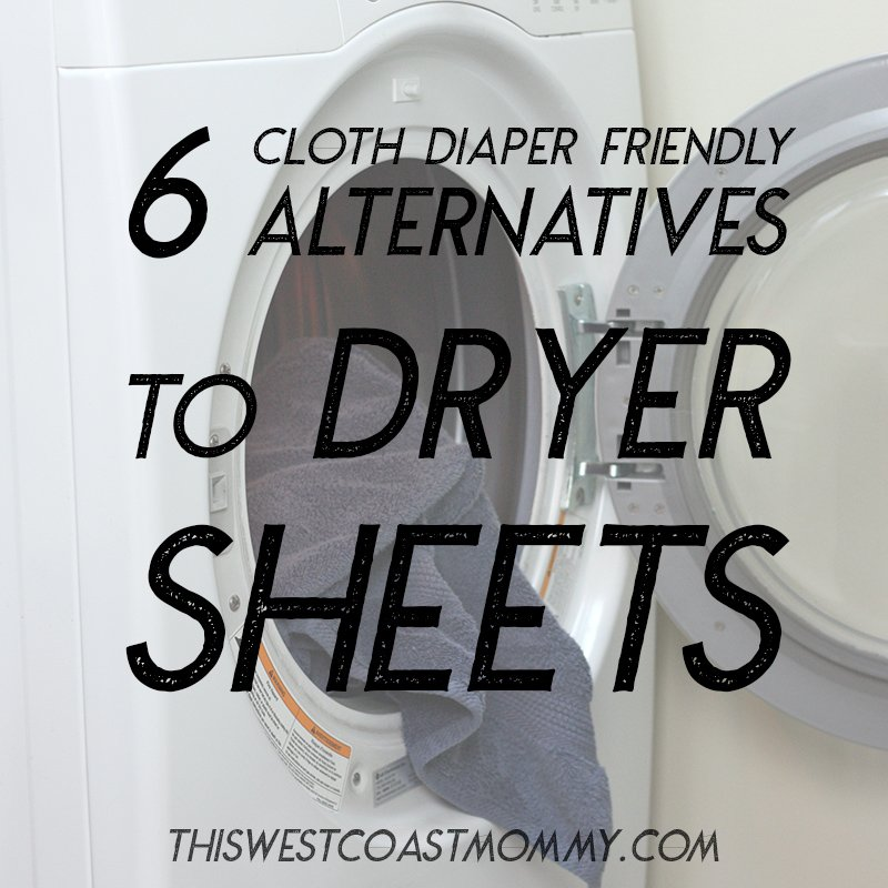 6 Cloth Diaper Safe Alternatives to Dryer Sheets