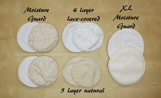 Milk Diapers Reusable Nursing Pads Review and #Giveaway (CAN/US, 11/3) - This West Coast Mommy