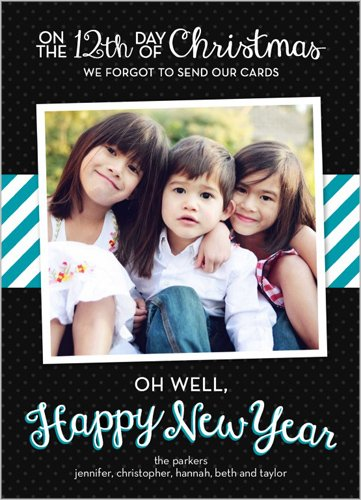 Oh Well New Year's card
