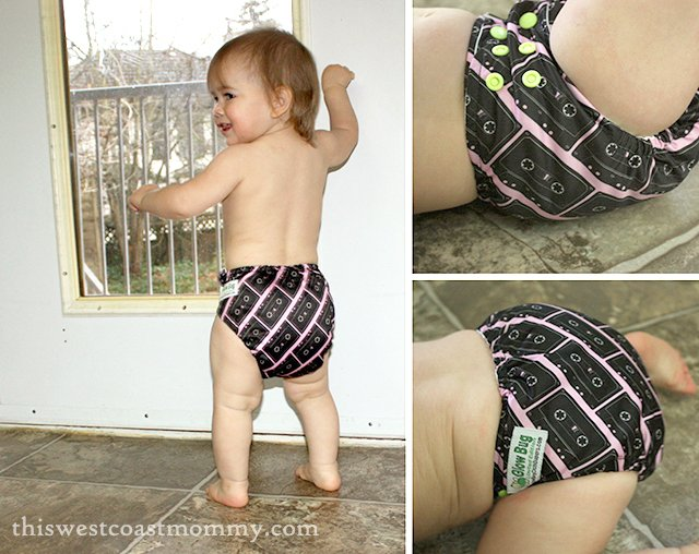 Glow Bug Cloth Diapers are good for the environment and good for baby – what a wonderful gift that keeps on giving! #HolidayGiftGuide