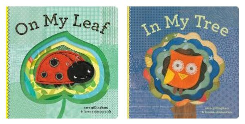 Books under the tree? Yes please! Read my review of On My Leaf & In My Tree by Sara Gillingham and Lorena Siminovich (Chronicle Books) #HolidayGiftGuide