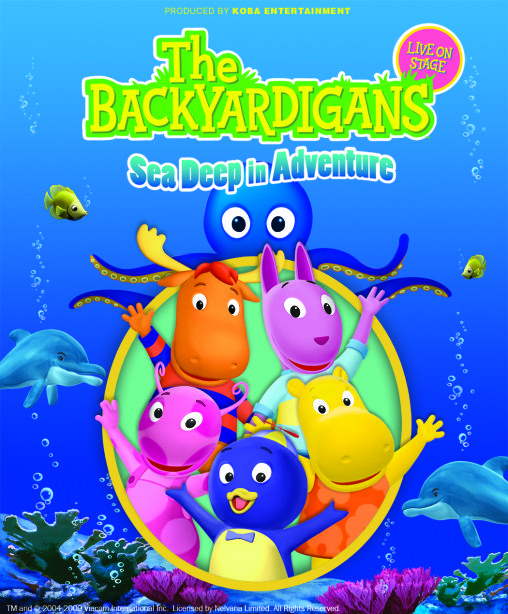 The Backyardigans: Sea Deep in Adventure is Coming to Vancouver! #Win 4 tickets to the show on February 22 (open to anyone who can attend show, 2/10) #YVR #Giveaway