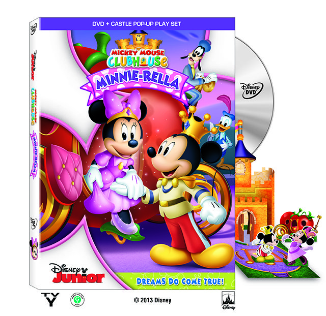 #Disney Mickey Mouse Clubhouse: Minnie-Rella on DVD