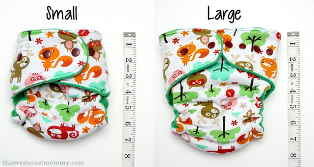 Nic and Elli Hybrid Fitted #ClothDiaper Review - fits 10-40 pounds