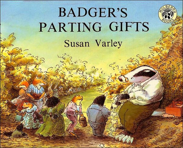 Books to help your child deal with the death of a grandparent: Badger's Parting Gifts by Susan Varley (HarperCollins)