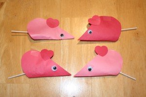 Valentine Mouse Card