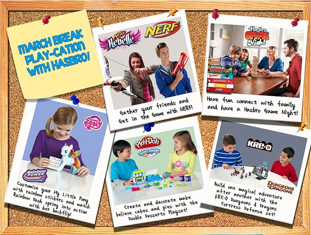 March Break Play-Cation with Hasbro