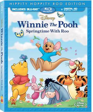 Winnie the Pooh: Springtime With Roo available on Blu-ray combo pack on March 11th