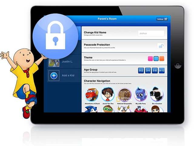 Kidoodle.TV lets parents customize exactly what kids can watch, by age categories and by selecting individual shows.