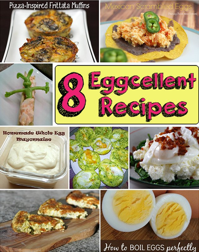 8 eggcellent recipes roundup