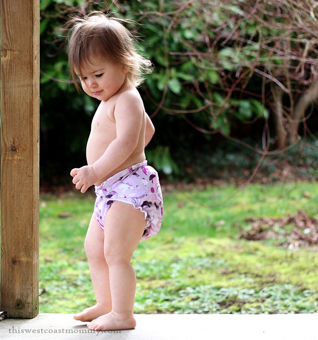 Love Happens print from AppleCheeks Cloth Diapers. Find it at YayaBaby.ca!