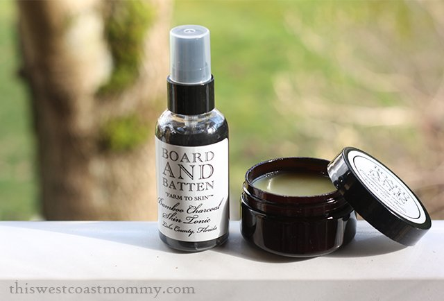 Bamboo Charcoal Skin Tonic and Cleansing & Conditioning Balm