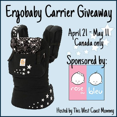 Win an Ergobaby Original Carrier! (CAN, 5/11)