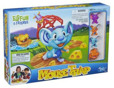 Mousetrap is a fun Easter gift from Hasbro.