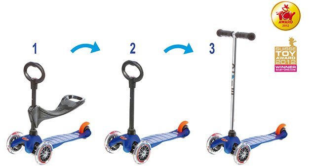 Win a Mini Micro 3in1 Scooter (Canada only, 7/9)