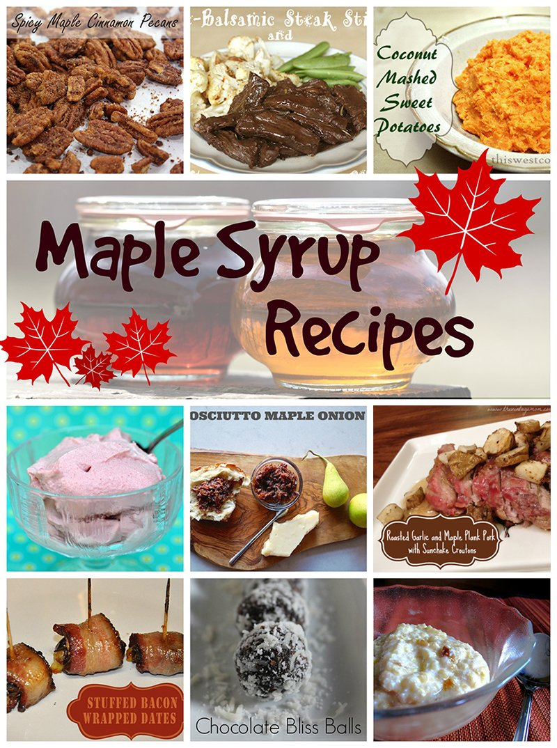 Canada Day maple syrup gluten-free recipe roundup