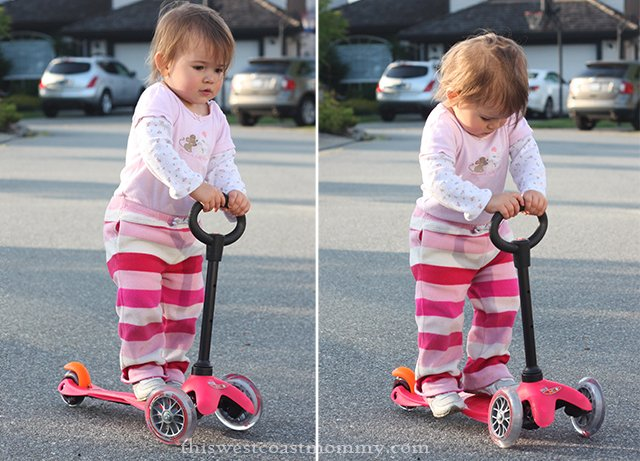 Mini Micro 3in1 Scooter with O-bar (about 2-3 years)