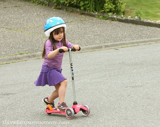 Mini Micro 3in1 Scooter with T-bar (about 3-6 years)