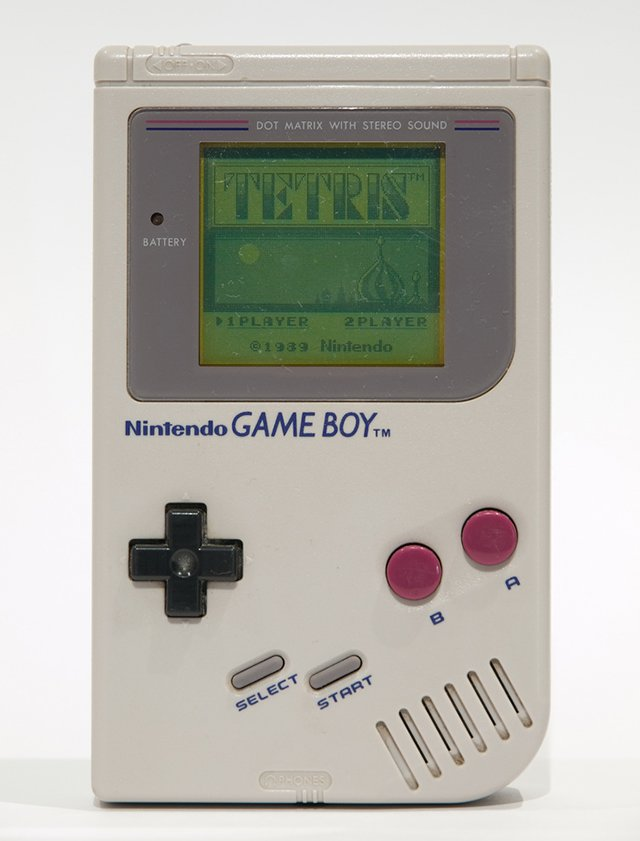 gameboy and tetris