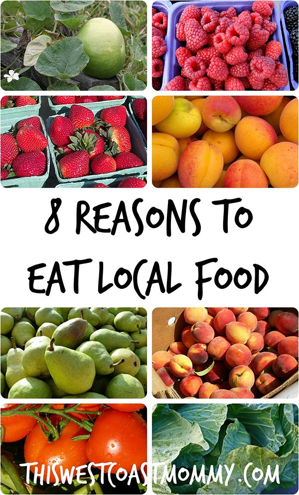 8 reasons to eat local food