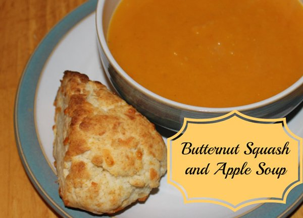 Butternut Squash and Apple Soup - Family Food and Travel