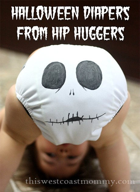 Halloween Diapers from Hip Huggers