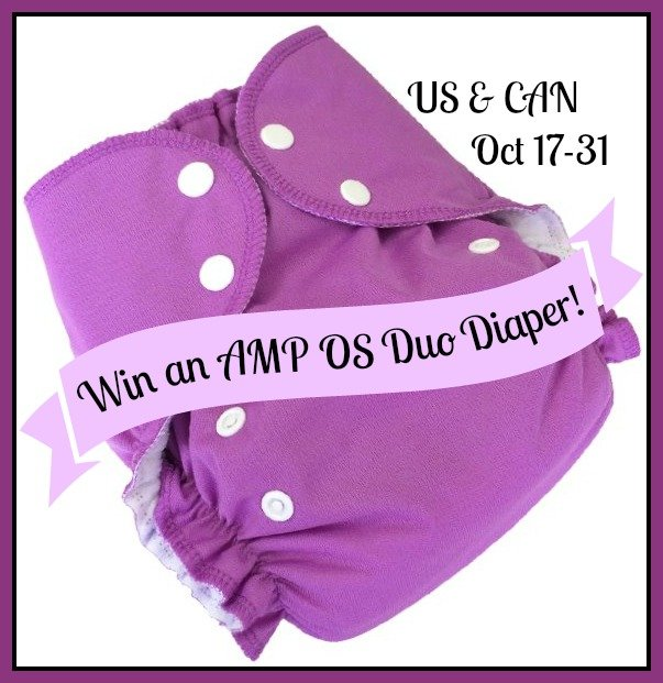 Win an AMP OS Duo Diaper