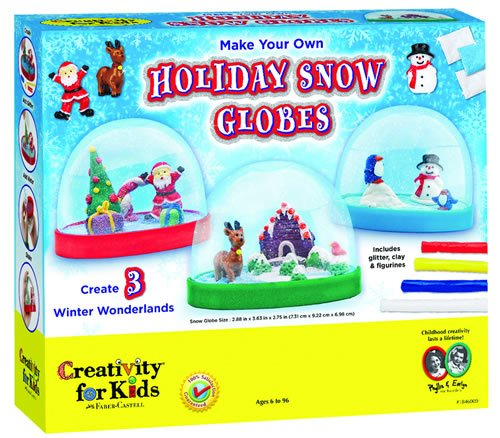 Make Your Own Snow Globes kit