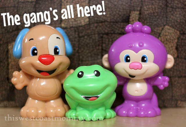 Fisher-Price Puppy, Monkey, and Froggy