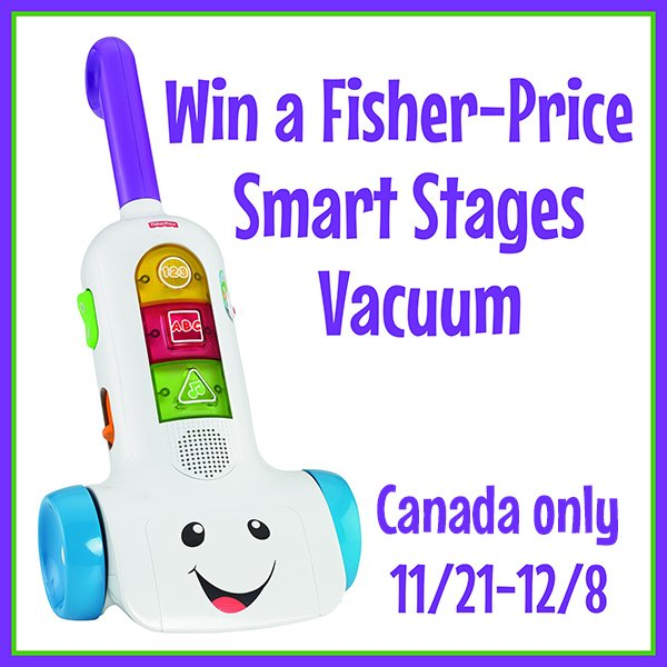 Win a Fisher-Price vacuum