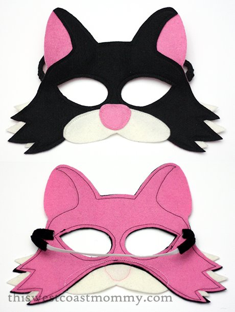 Mouse & Moose cat play mask