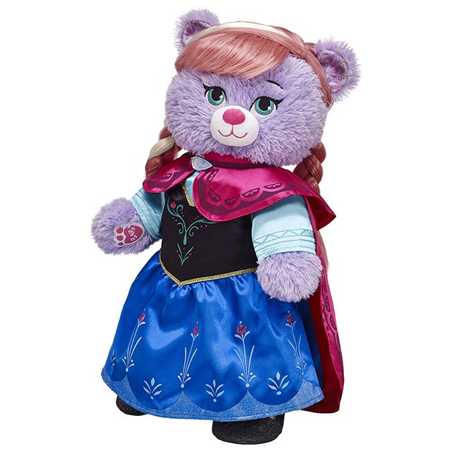 Build-A-Bear Frozen Anna Bear