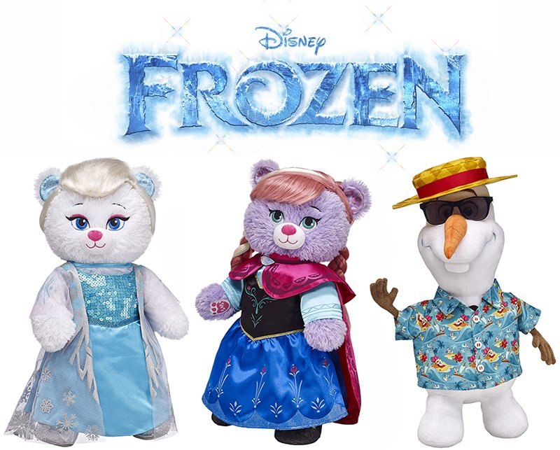 Build-a-Bear Frozen collection