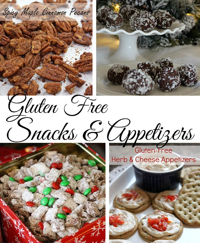 Gluten-free snacks & appies