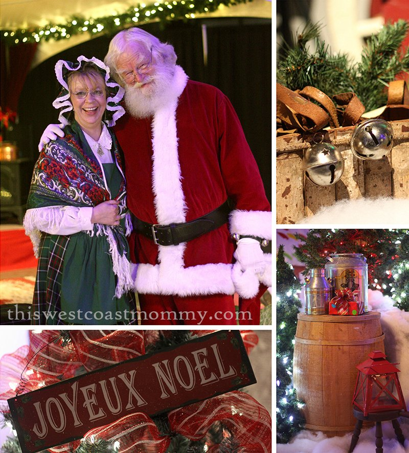 Santa Claus and the Mrs at the North Pole
