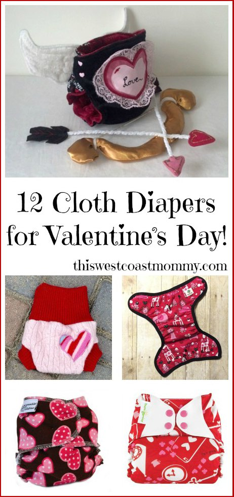12 cloth diapers perfect for celebrating valentine's day