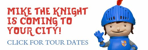 Mike the Knight tour dates