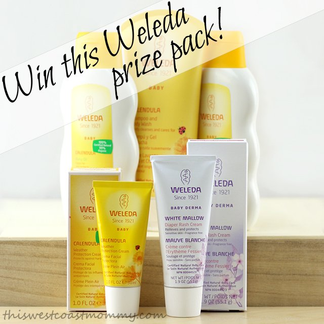 Win this Weleda Baby prize package! (CAN only, 3/31)