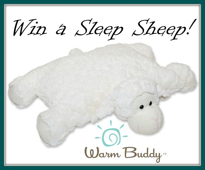 Win a Sleep Sheep with a hidden heat/ice pack inside! (US/CAN, 2/18)