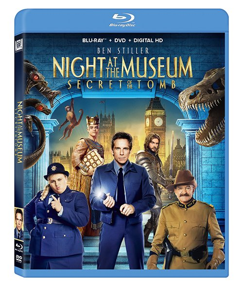 Night at the Museum Secret Tomb Blu-ray