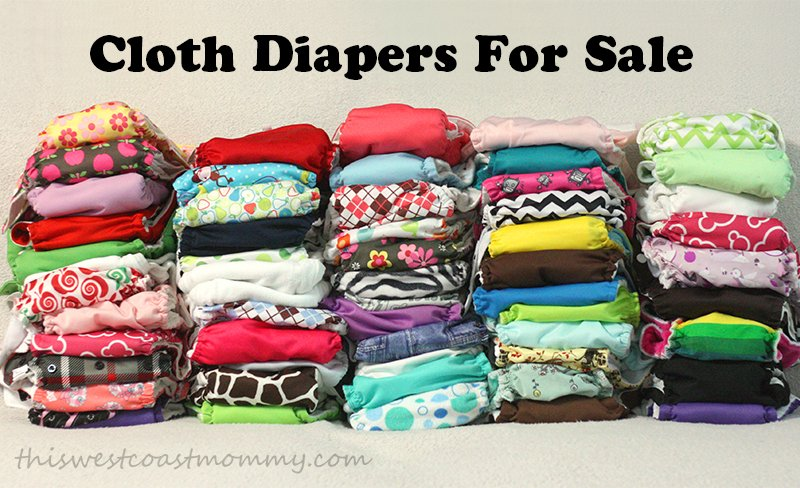 cloth diaper stash for sale