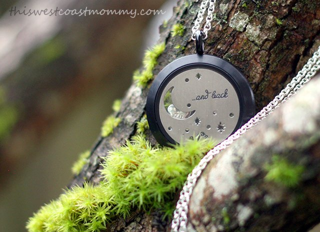 My Origami Owl Living Locket necklace tells the story of my family.
