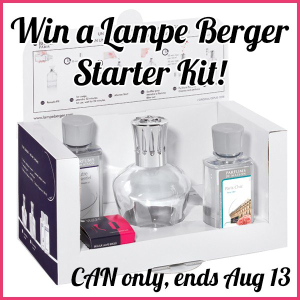 Win a Lampe Berger Starter Kit (CAN only, 8/13)